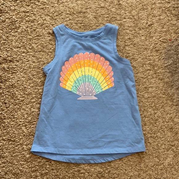 🎉5 for $25🎉 Cat Jack blue seashell tank top